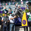 Knicks Go with Joel Rosario wins the Breeders' Cup Dirt Mile at Keeneland in Lexington, Ky. on Nov. 7, 2020.