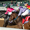 Vequist with Joel Rosario wins the Juvenile Fillies at Keeneland in Lexington, Ky. on Nov. 6, 2020. Photo: Anne M. Eberhardt
