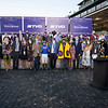 Winning connections of Essential Quality with Luis Saez in the winner's circle for the TVG Breeders' Cup Juvenile at Keeneland in Lexington, Ky. on Nov. 6, 2020. Photo: Anne M. Eberhardt
