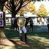 Tyler Gaffalione at Keeneland in Lexington, Ky. on Nov. 7, 2020.