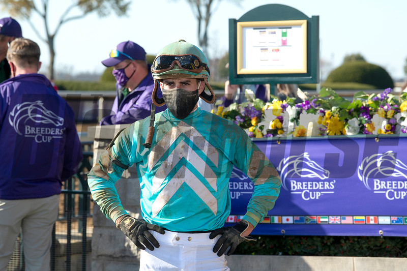 Whitmore with Irad Ortiz Jr. wins the Sprint at Keeneland in Lexington, Ky. on Nov. 7, 2020.