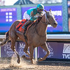 Whitmore ridden by Iran Ortiz Jr. wins the $1M Breeders' Cup Sprint G1 at Keeneland Race Course Saturday Nov. 7,  2020 in Lexington, KY.  Photo by Skip Dickstein