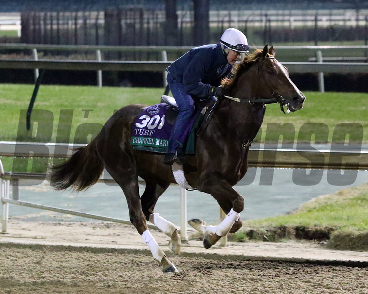 Channel Maker - Breeders' Cup 2018<br /> Chad B. Harmon Photo