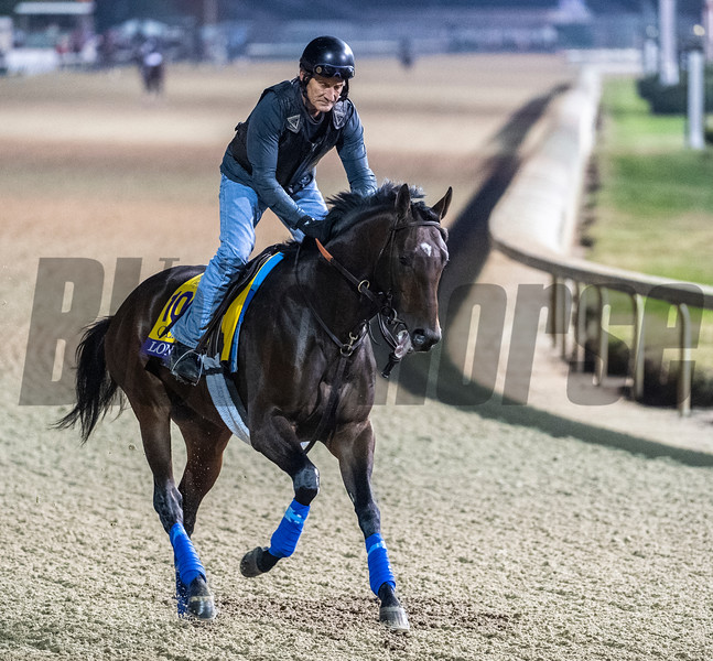 Lone Sailor Sunday Oct. 28, 2018 before the Breeders' Cup at Churchill Downs in Louisville, KY Photo by Skip Dickstein