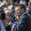 Michael W. McCarthy interviewed after City of Light wins the Breeders' Cup Dirt Mile.