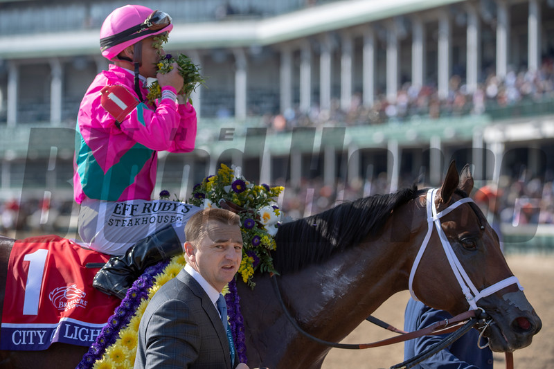 City of Light with Javier Castellano wins the Breeders' Cup Dirt Mile (G1) at Churchill Downs on November 3, 2018<br /> Skip Dickstein