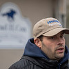 Trainer Brad Cox speaks to the media Sunday Oct. 28, 2018 before the Breeders' Cup at Churchill Downs in Louisville, KY Photo by Skip Dickstein
