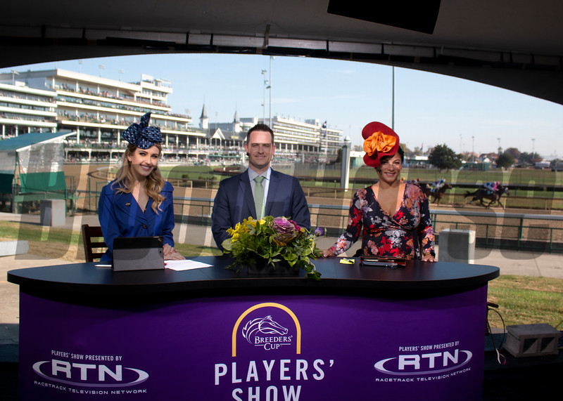 Players' Show during the 35th Breeders' Cup on Saturday, Nov. 3, 2018, at Churchill Downs, in Louisville, Kentucky.