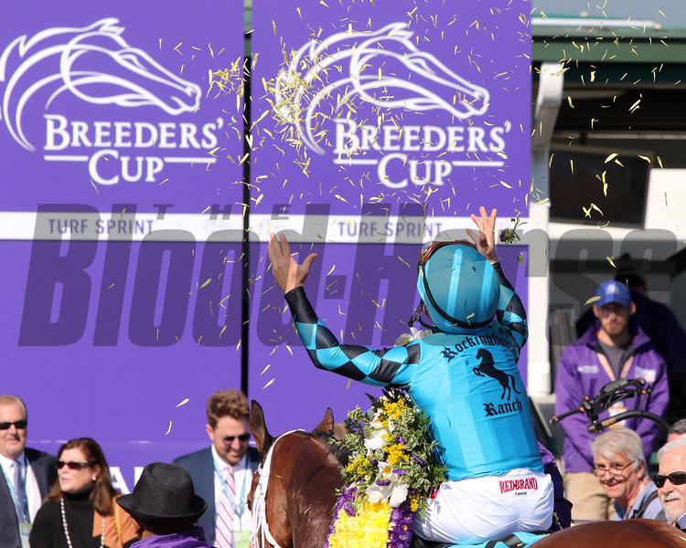 Stormy Liberal Drayden Van Dyke Breeders' Cup Turf Sprint Churchill Downs Chad B. Harmon