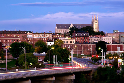 Lewiston at Sunset