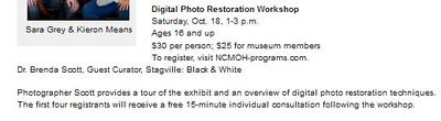 North Carolina Museum of History Workshop