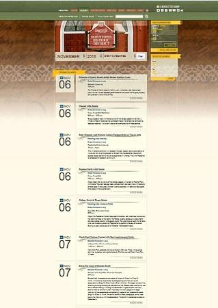 Fayetteville Events Calendar