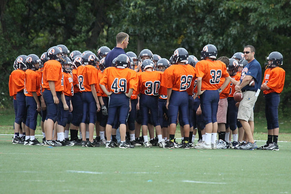 Brendan 7th Grade Football
