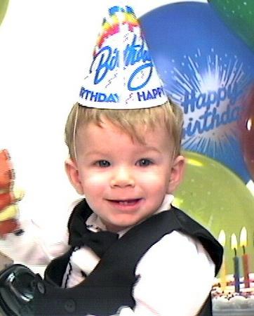 2005 Brendans first birthday