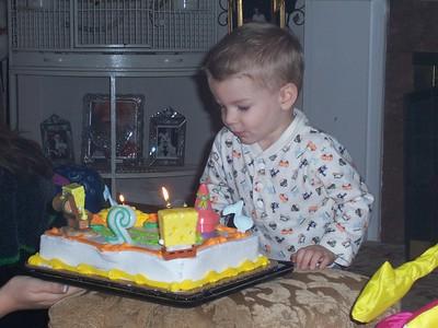2005 November Brendans birthday