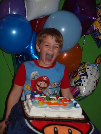 2010-11-02 Brendan's 7th birthday party
