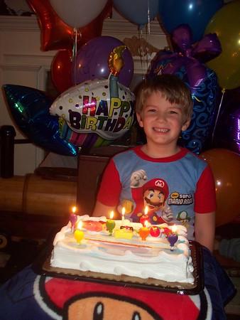 2010-11-03 Brendan's 7th birthday party
