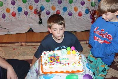 2012-11-02 Brendan's 9th Birthday