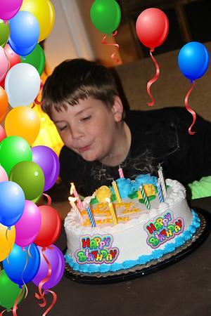 2013-11-03 Brendans 10th birthday