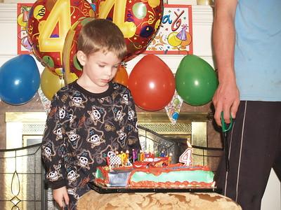 4th Birthday Brendan