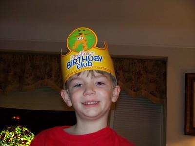 6th Birthday Brendan