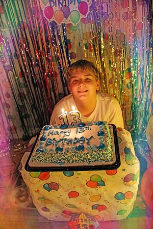 Brendan's 13th Birthday