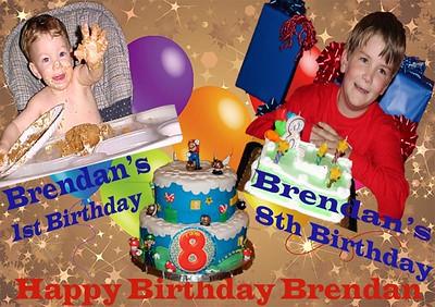 Brendan's 8th birthday