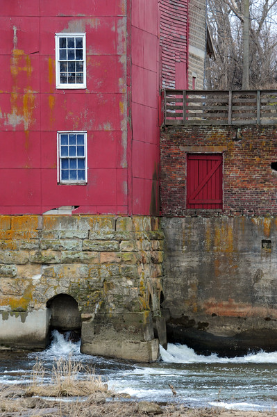 Bridgeton Mill along Raccoon Creek in Parke County.  This is a unique image that is full of color and would be extremely impactful on a metal; glossy print.