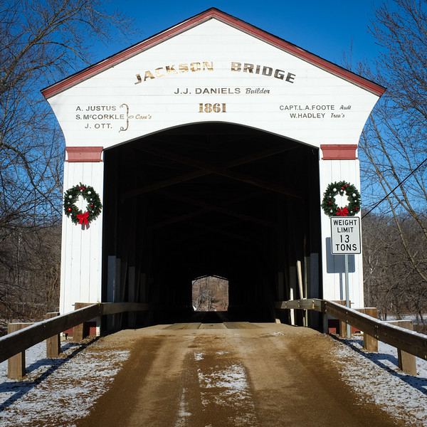 Jackson Bridge Parke County Sugar Creek