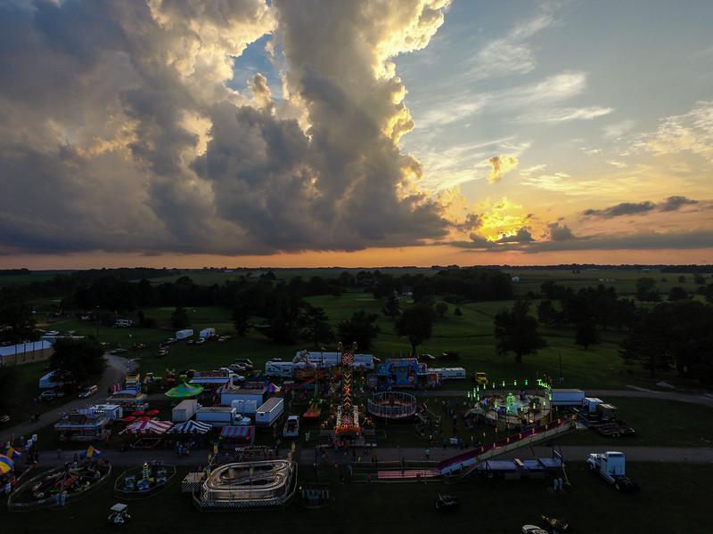 Vigo County Fairgrounds Storm