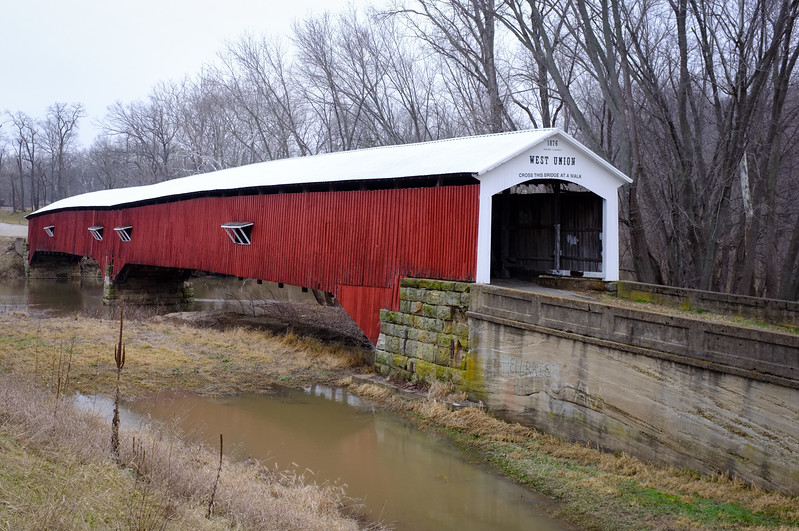 West Union Covered Bridge Sugar Creek