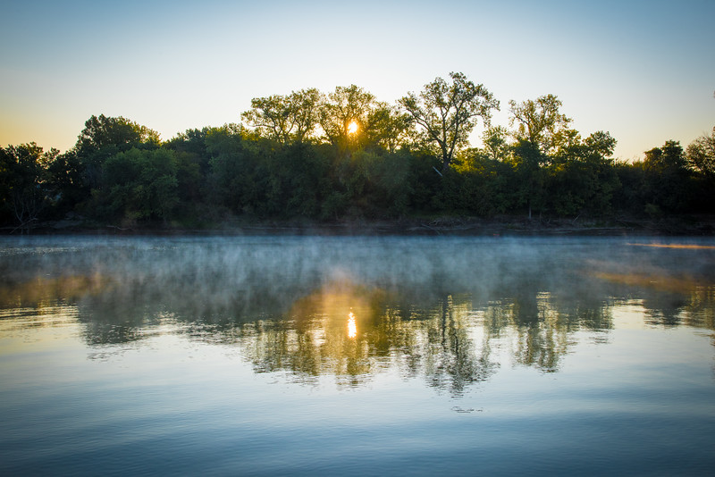 Wabash River Sunrise 2 September 2017