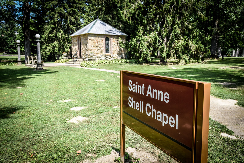 Saint Anne Shell Chapel St. Mary of the Woods College Vigo County