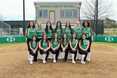 Brenham JV Softball 2020