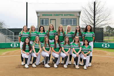Brenham Varsity Softball 2020