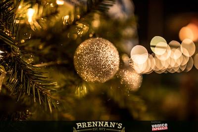Brennan's Holiday.  Photo by VenicePaparazzi.com