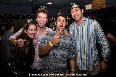 Brennan's NYE.  @TurtlesRaces #BrennansLA. © VenicePaparazzi.com