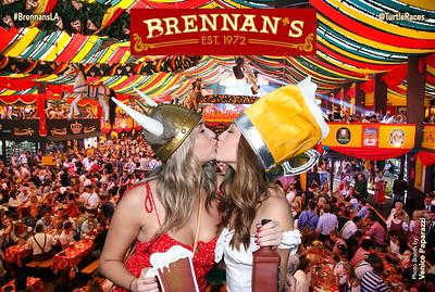 Brennan's Octoberfest.  @TurtleRaces #BrennansLA  Photo Booth by Venice Paparazzi