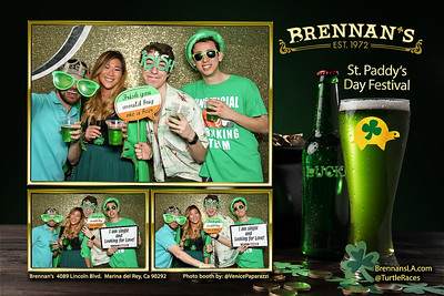 Brennan's, 4089 Lincoln Blvd. Marina del Rey, Ca 90292. BrennansLA.com   @TurtleRaces.  Photo booth by VenicePaparazzi.com