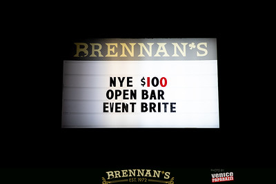 BRENNAN'S NYE. @brennansla @turtleraces #brennansla Photo by @VenicePaparazzi