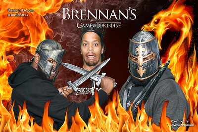 Game of Thrones's at Brennan's.  BrennansLA.com @TurtleRaces Photo Booth by @VenicePaparazzi