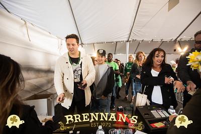 St. Patrick's Day at Brennan's.   www.brennansla.com.  Photo by www.VenicePaparazzi.com