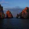 Lands end off Cabo San Lucas - From the deck of  the Lindblad / National Geographic Sea Lion in the Sea of Cortez.