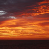 Baja Sunset  - From the deck of  the Lindblad / National Geographic Sea Lion in the Sea of Cortez.