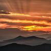 Sunset Caney Fork Overlook