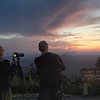 Photo buddies capturing sunset at Caney Fork Overlook