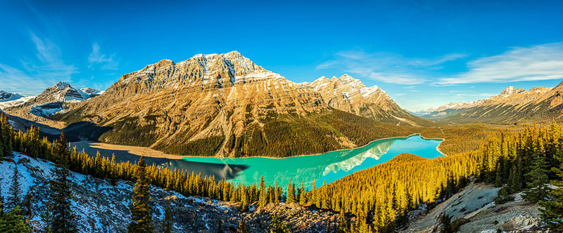Lake Peyto, Banff National Park, Alberta, Canada