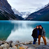 Trudy & I at Lake Louise, Banff National Park, Alberta, Canada
