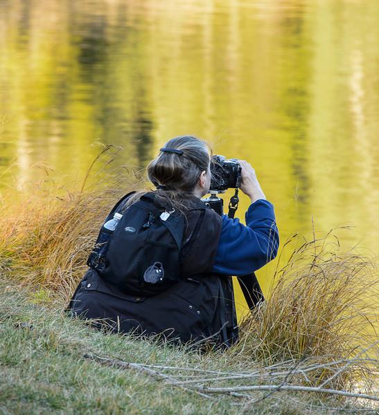 Trudy at Johnston Lake, Banff National Park, Alberta, Canada