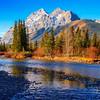 Kananaskis River, Kananaskis County, Alberta, Canada